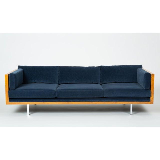 A sumptuous restoration of Milo Baughman's Classic 2165 Sofa for Thayer Coggin. Designed in 1968, the sofa has a three-...