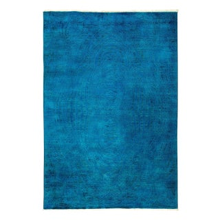 """Vibrance Hand Knotted Area Rug - 5' X 7'3"""""""
