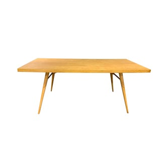 Planner Group Mid-Century Modern Maple Dining Room Table by Paul McCobb For Sale