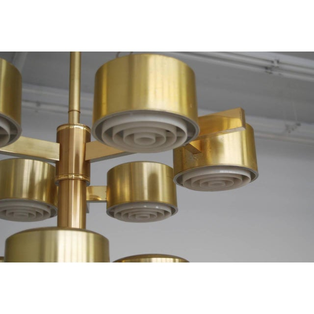 Oversized Chandelier by Hans-Agne Jakobsson For Sale - Image 10 of 11