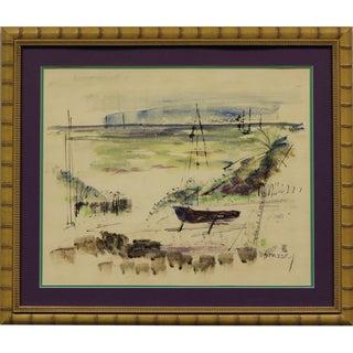 Bermuda Harbour Scene For Sale