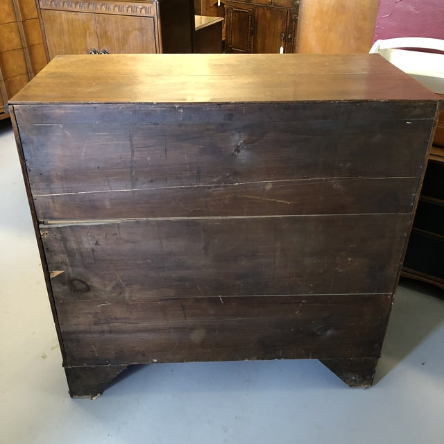 19th Century English Oak Chest For Sale - Image 9 of 13