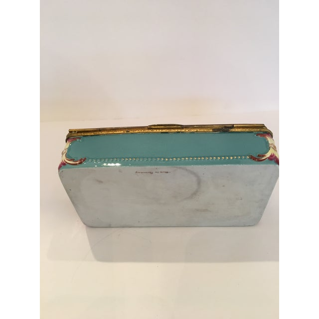 Capodimonte Cupid Hinged Box - Image 6 of 10