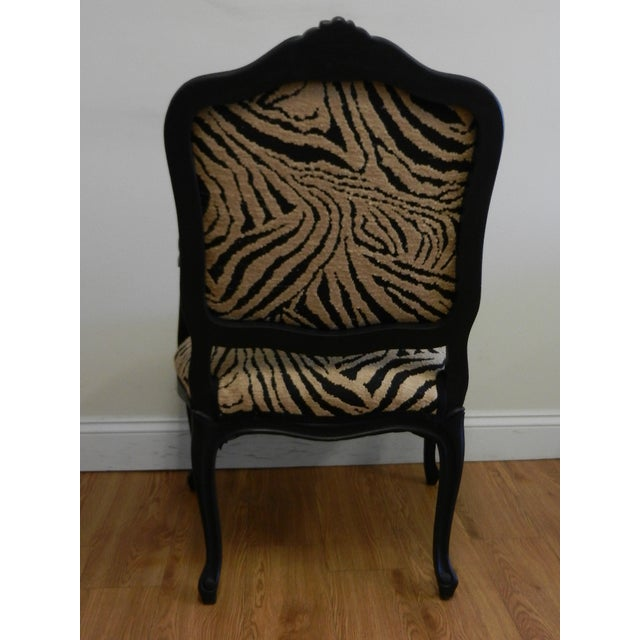Louis XIV French Provincial Occasional Chair - Image 4 of 6