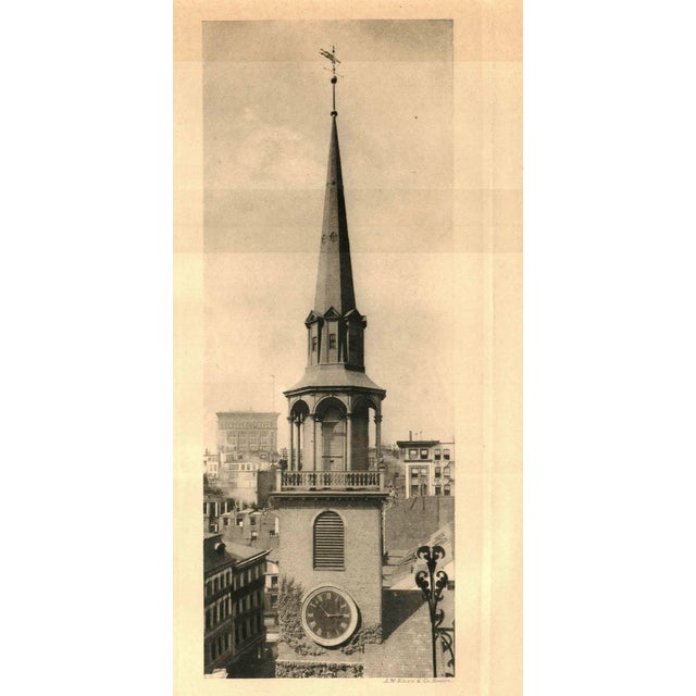 "1900 - 1909 1906 ""Old New England Churches and Their Children"" Collectible Book For Sale - Image 5 of 6"