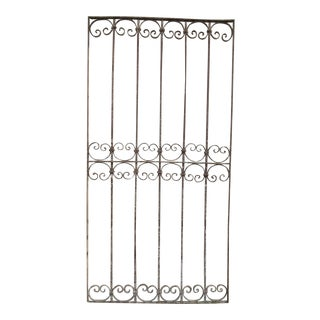 Antique Victorian Iron Gate # 331 For Sale