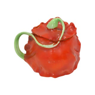 Royal Bayreuth Tomato Sugar Bowl