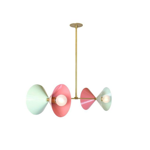 The Polarize pendant conveys a strong modern design defined by balance and symmetry. Bi-focal features clean, handsome...