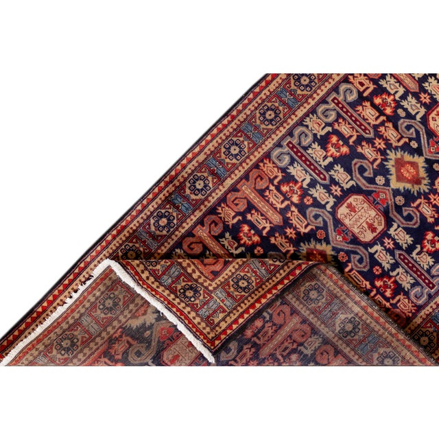 """Islamic Vintage North West Persian Rug, 4'7"""" X 10'1"""" For Sale - Image 3 of 9"""