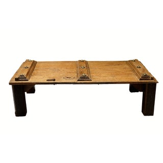 19th Century Southern Indian Door Table