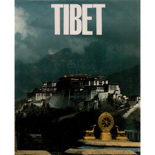 """1981 """"Tibet"""" Coffee Table Book For Sale"""