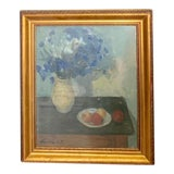 Image of 1930s Vintage Vasarhelyi Still Life Oil Painting For Sale