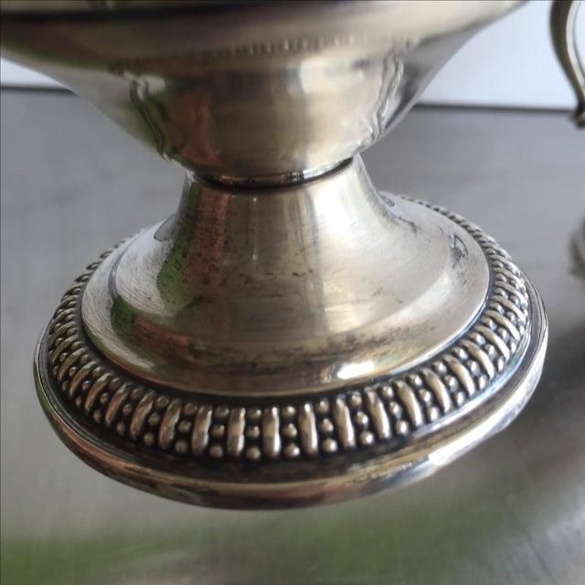 Sterling Silver Creamer, Sugar, & Spoon - Set of 3 - Image 3 of 5