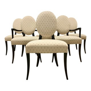 Barbra Barry for Baker Furniture Dining Chairs - Set of 6 For Sale
