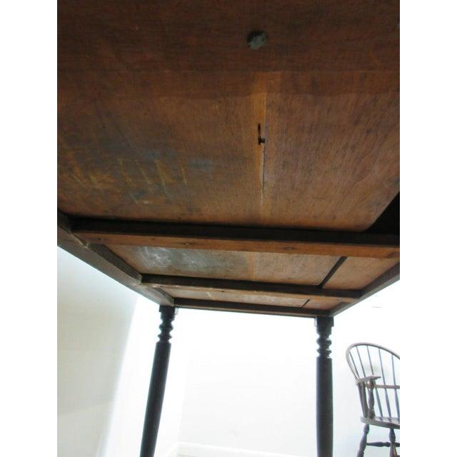 Antique Masonic Freemason Victorian Primitive Slant Top Plantation Writing Desk - Image 7 of 7