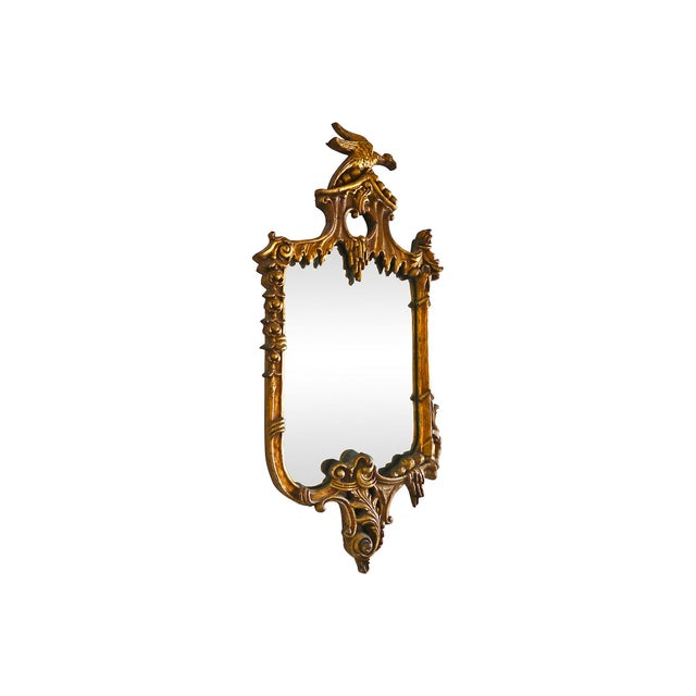 19th-Century Gilded Rococo-Style Mirror - Image 3 of 6