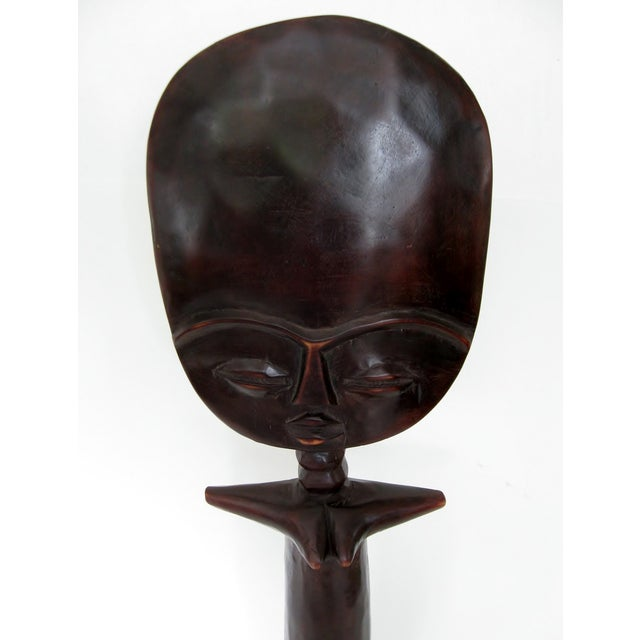Vintage African Fertility Statue - Image 3 of 6