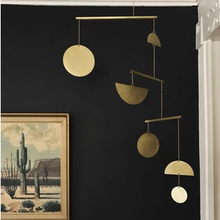 Modern Contemporary Brass Kinetic Mobile Wall Object Preview