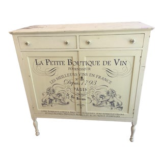 Vintage Shabby Chic Chest For Sale