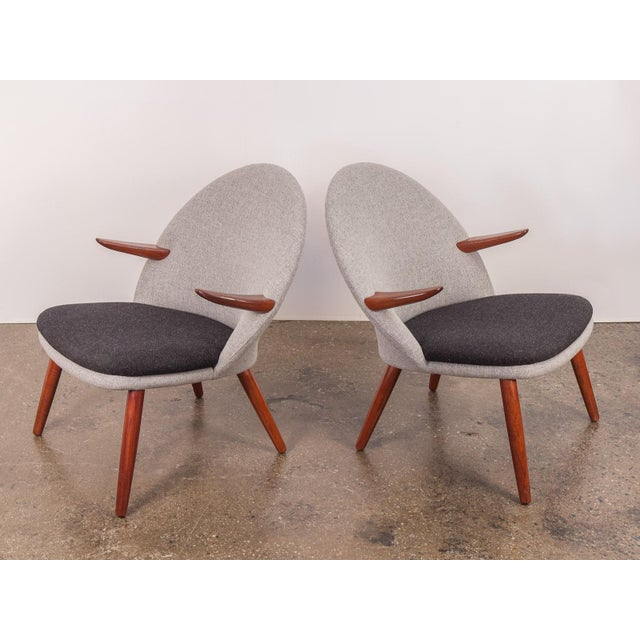 Contemporary Kurt Olsen Easy Chairs - a Pair For Sale - Image 3 of 11