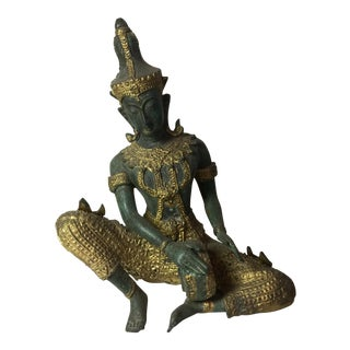 1990s Chinese Bronze Cast Sculpture For Sale