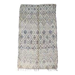 Vintage Handwoven Marmoucha Rug For Sale