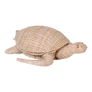 Mario Torres Wicker Turtle For Sale