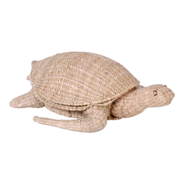 Mario Torres Wicker Turtle For Sale