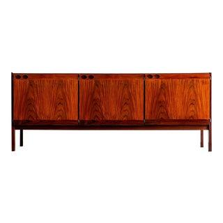 1960s Mid-Century Modern Ib Kofod Larsen Rosewood Sideboard For Sale