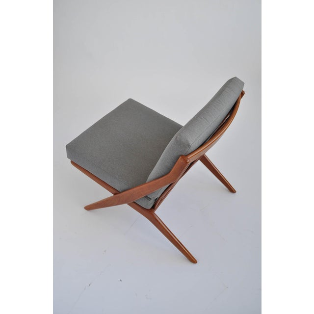 Folk Ohlsson Scandinavian Scissor Lounge Chairs - Image 5 of 10