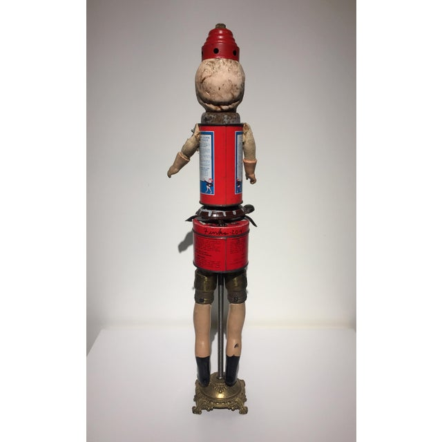 Recomposed Antique Doll- Little Buster For Sale - Image 4 of 6