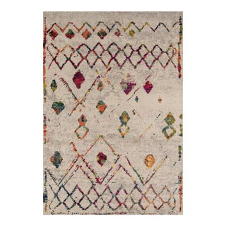 "Contemporary Momeni Casa Polypropylene Beige Area Rug - 7'10"" X 9'10"" For Sale"