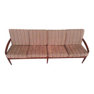 1960s Vintage Kai Kristiansen Rosewood Sofa For Sale