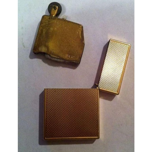 Mid 20th Century 14k Gold Lighter Signed B&A For Sale - Image 5 of 10