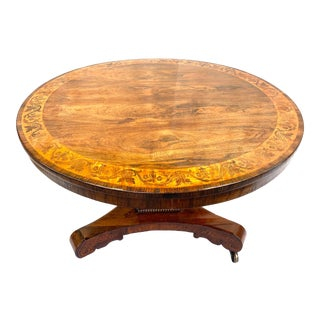 Late 19th Century English Regency Breakfast Table For Sale