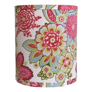 Annie Selke Fabric Lampshade Custom Made to Order For Sale