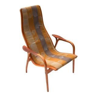 1960s Yngve Ekström Lamino Chair for Swedese For Sale