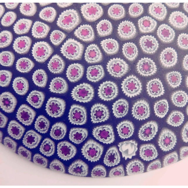 Italian Millefiori Murrine Plate by Ercole Moretti Italy For Sale - Image 3 of 7