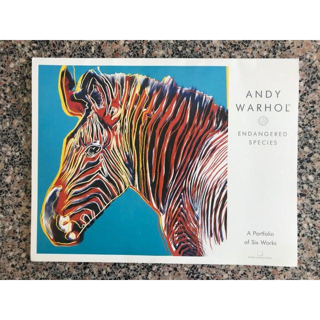 """Warhol """"Endangered Species"""" Print Portfolio For Sale - Image 12 of 12"""