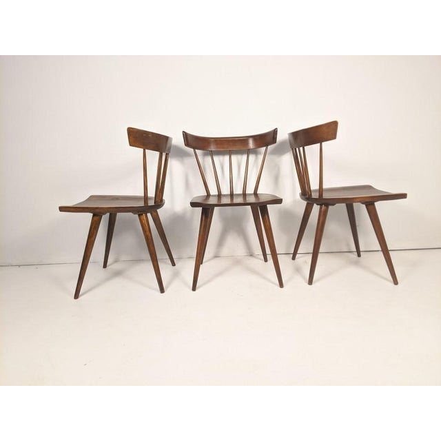 Mid Century Modern Paul McCobb Solid Maple Drop Leaf Dining Set - 7 Pieces For Sale - Image 9 of 13