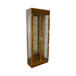 1970's Vintage Hendredon Scene One Display Cabinet For Sale