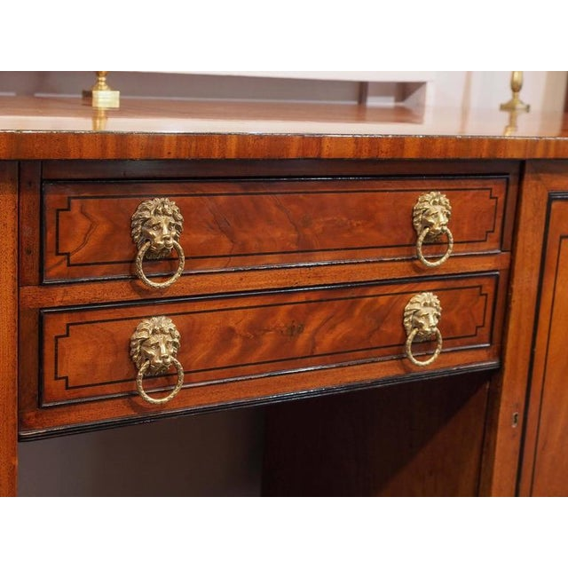 Antique English Sideboard For Sale - Image 4 of 10