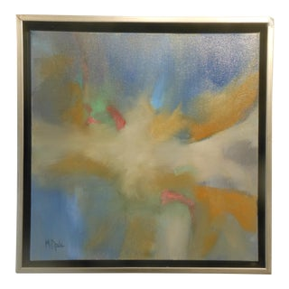 Martha Spak Contemporary Abstract Framed Painting For Sale