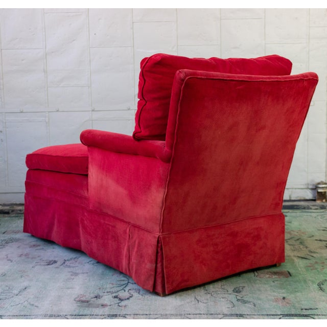 Small Ladie's Chaise Longue For Sale In New York - Image 6 of 11