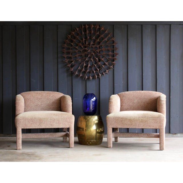 Art Deco 1980's Contemporary Chairs, a Pair For Sale - Image 3 of 13