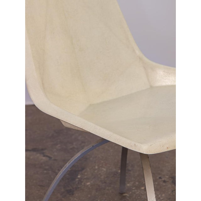 White Paul McCobb White Origami Chair on Spider Base For Sale - Image 8 of 9