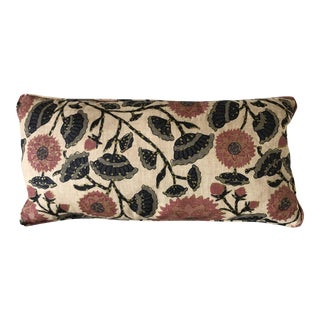 Peter Fasano Jaipur Ochre Pillow For Sale