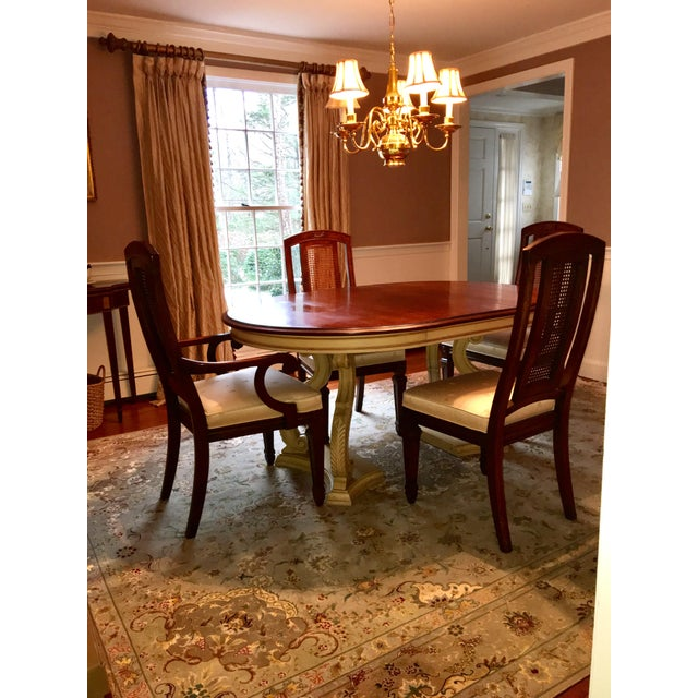 Blonde Mahogany Dining Set - Image 10 of 11