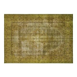 "Nalbandian - 1960s Overdyed Persian Tabriz Carpet - 6'5"" X 9'6"" For Sale"