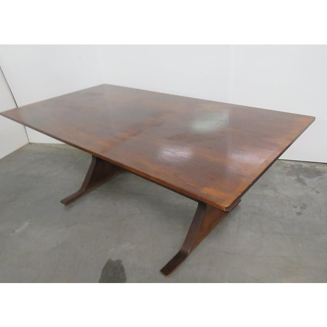 Frattini Italian Rosewood Dining Table - Image 7 of 9